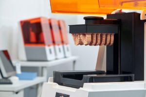 歯科用小型3Dプリンターform3で印刷