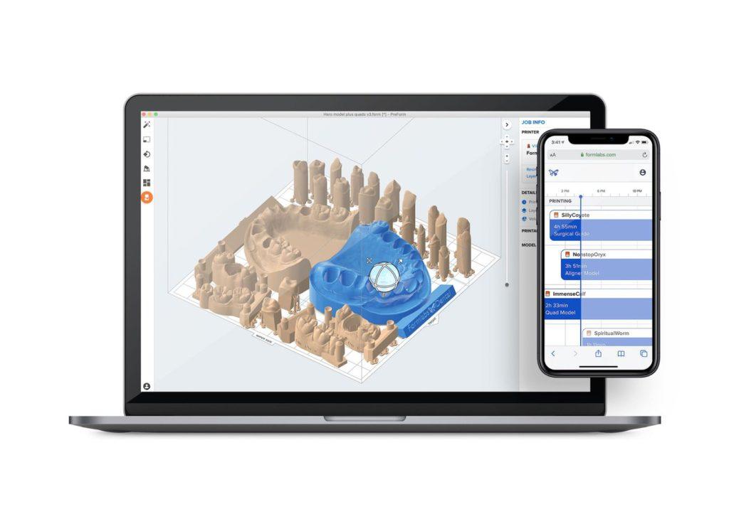 オンラインで3Dプリンターを操作 form3